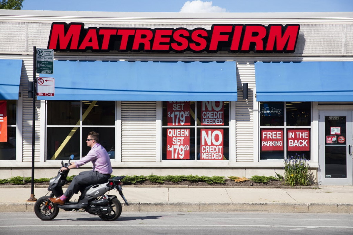 Talk about global Houston based Mattress Firm bought out