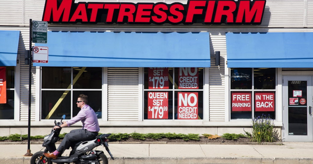 Mattress Firm Filed For Bankruptcy And Is Already Beginning To Close