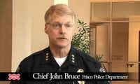 Frisco Police Chief John Bruce appears on city of Frisco video to talk about upgrades for his department.(City of Frisco)