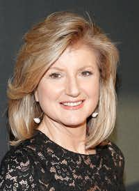 Arianna Huffington. (Photo by Brian Ach/Getty Images for AOL)