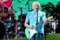 Jimmy Buffett performed at Frisco's Toyota Stadium in May.(Ting Shen/Staff Photographer)