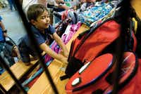 Choosing the right backpack is oh-so-important, not only for the cool factor but for the healthy back factor, too.<div><br></div>(AP photo)