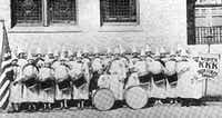 "Ku Klux Klan women drum corps (<p><span style=""font-size: 1em; line-height: 1.364; background-color: transparent;"">From the collection of the Texas/Dallas History and Archives Division, Dallas Public Library</span></p>)"