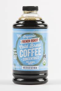 Trader Joe's organic french roast cold brew coffee concentrate(Ashley Landis/Staff Photographer)