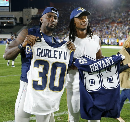 Todd Gurley Cowboys Uniform