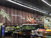 The produce section at Sun Fresh Market on Mockingbird Lane.(Maria Halkias/Staff)