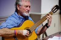 "Grammy Award-winning country music star Larry Gatlin rehearses for his new musical ""Quanah,"" at The Irving Arts Center, Monday, August 22, 2016. (Brandon Wade/Special Contributor)"