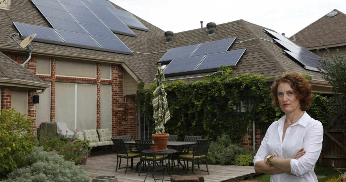 Allen Council Members Vote To Keep Solar Panel Roof