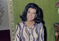 Author Jacqueline Susann is seen in 1969(Associate Press)