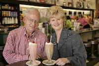 Sonny Williams and Gretchen Minyard Williams, owners of Highland Park Soda Fountain.((File photo))