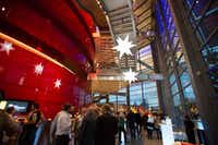 The interior of the Winspear Opera House, the centerpiece of the $360 million AT&T Performing Arts Center. (Mei-Chun Jau/Special Contributor)