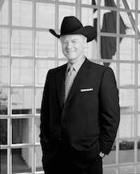 The late actor Larry Hagman, who portrayed TV villain J. R. Ewing. (Cliff Lipson/CBS)