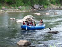 Rafting on the Animas River in Durango, Colorado(Beverly Burmeier)