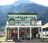 The Shady Lady Saloon is reminiscent of Old West times in Silverton, Colo.(Beverly Burmeier)