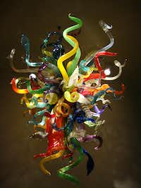 Learn how this amazing glass sculpture was made during a docent tour at the Chihuly Collection in downtown St. Pete. (Robin Soslow)