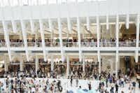 Apple World Trade Center store opened on Aug. 16.(Photo courtesy of Apple)