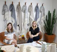 "<p><span style=""font-size: 1em; line-height: 1.364; background-color: transparent;"">Rachel Bentley and Carly Nance, co-founders of The Citizenry, launched their home decor brand in August 2014. Their items are made by artisans in different countries with the country's natural resources. The Citizenry sells its collections online and in its Knox-Henderson showroom.</span></p>(Andy Jacobsohn/The Dallas Morning News)"