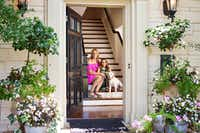 Lauren Renfrow shares her Park Cities home with 10-year-old daughter Addison and beloved dog Dash. (Melanie Johnson Photography)
