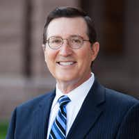 <p>Dale Craymer, president of the Texas Taxpayers and Research Associatio<wbr>n</p>(Addison Studios)