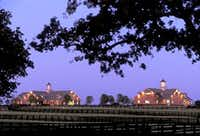 Valor Farm includes several houses and horse barns. (Valor Farm)