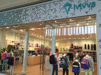 ivivva athletica on the upper level at NorthPark Center. (DMN staff )
