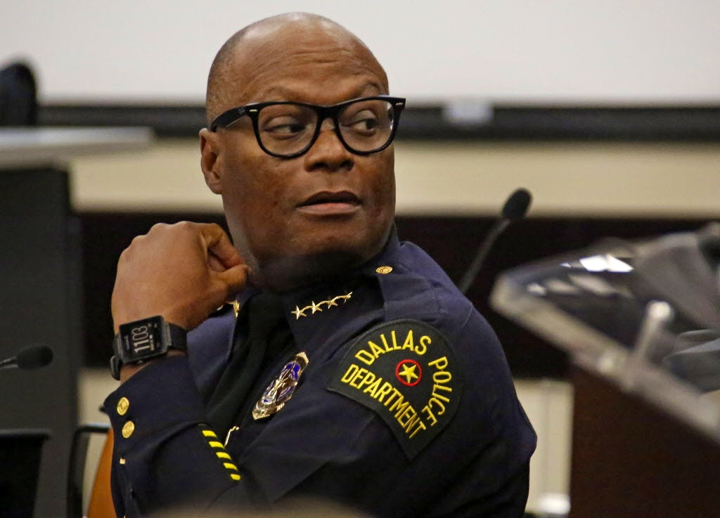 Retiring Dallas Police Chief David Brown S Replacement