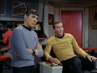 Leonard Nimoy as Spock and William Shatner as Kirk in <i>Star Trek: The Original Series</i>(Paramount Pictures)