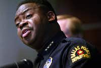 Dallas Police Chief Terrell Bolton expressed his feelings after being fired in 2003. (File Photo)