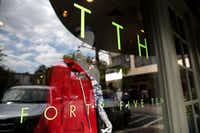 Exterior of TTH Forty Five Ten at Highland Park Village in Highland Park, Texas on Sept. 2, 2016. (Rose Baca/The Dallas Morning News)(Staff Photographer)