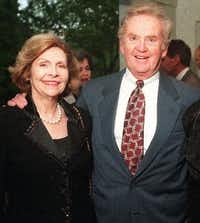 John Eulich and his wife, Virginia.(DMN files)