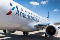 An Embraer E-175 aircraft operated uncer American Airlines' regional carrier brand American Eagle.( /PR NEWSWIRE)