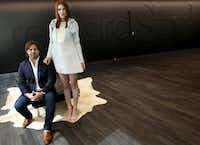 """<p><span style=""""font-size: 1em; line-height: 1.364; background-color: transparent;"""">Baxter Box and Amber Venz Box co-founded the fashion tech startup, RewardStyle. The startup, which has offices in The Centrum building in Dallas, is one of the most successful start-ups in recent Dallas history.</span></p>(Rose Baca/The Dallas Morning News)"""