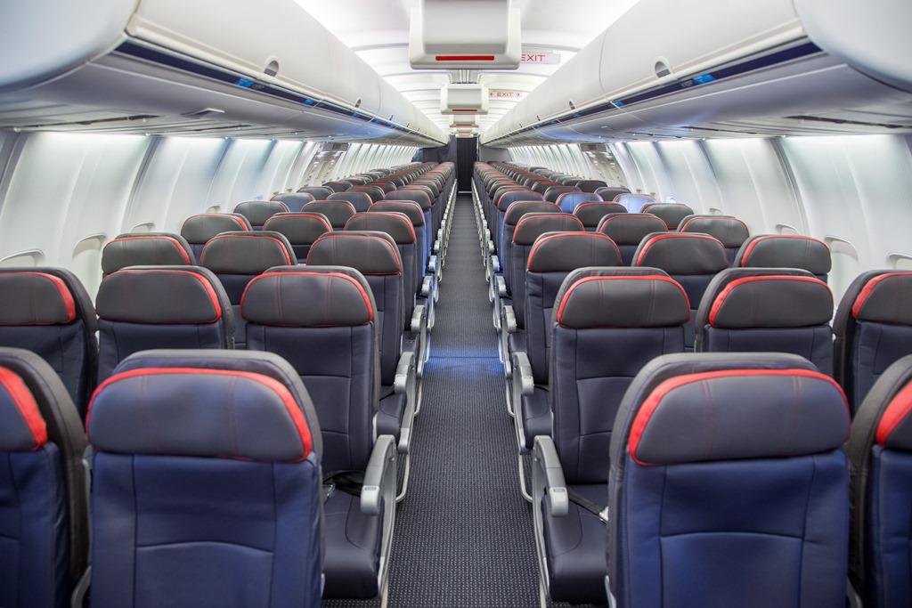 Airplane Seats After Refurbishing