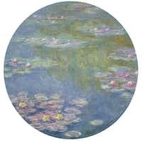 Claude Monet, Water Lilies, 1908, oil on canvas, Dallas Museum of Art, gift of the Meadows Foundation, Incorporated 1981.128Dallas Museum of Art