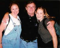 "<p>Lisa Kennedy (left) and Jenna Mathers lost their father, <a name=""firsthit"" id=""firsthit""></a>Michael E. Tinley, in the 9/11 attack on the World Trade Center.</p>(Photo contributed by Lisa Kennedy)"