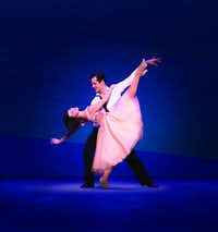 Robert Fairchild and Leanne Cope from the original Broadway production of 'An American in Paris.'  FIle photo