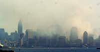 The New York City skyline on Sept. 11, 2001.(File)