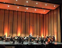 Guest conductor Case Scaglione at Dallas Symphony ReMix concert(Scott Cantrell<div><br></div>)