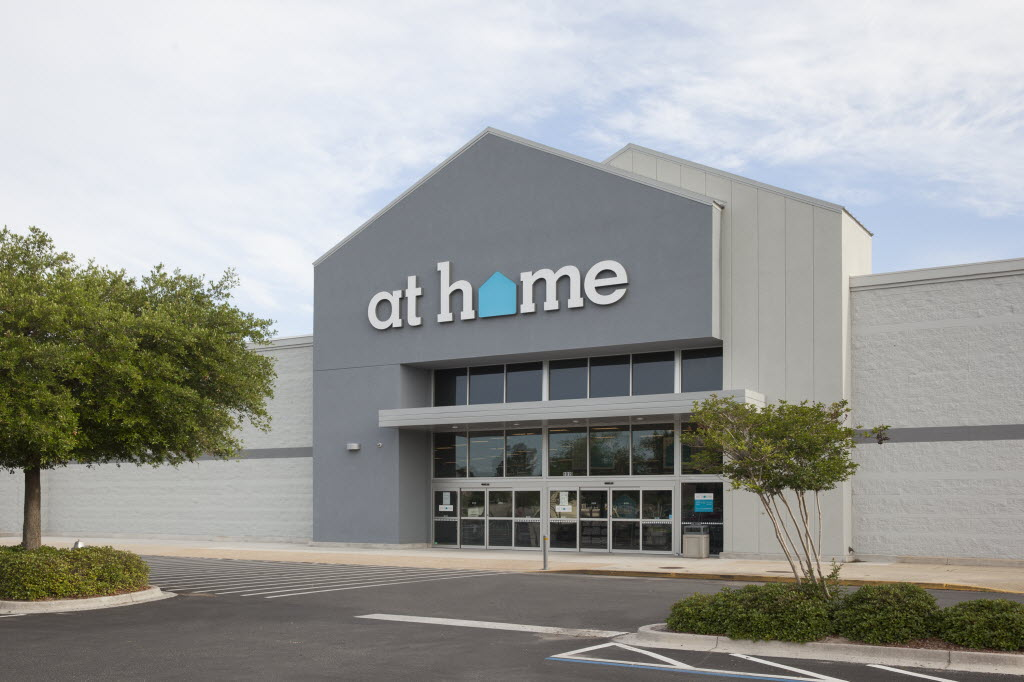 Plano based At Home has rising stock and stores on the way but it