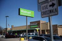 Wal-Mart has 600 stores in Texas. It declined to comment on the dark-store strategy. (File Photo/Andy Jacobsohn)