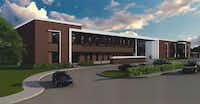 Mesquite High School will undergo an $18 million renovation starting in March.(Mesquite ISD)