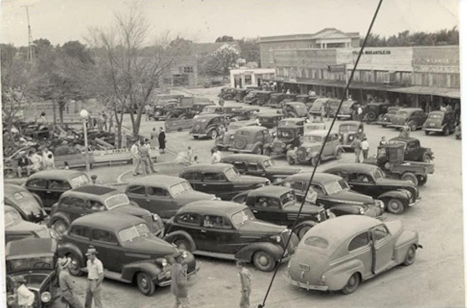 Downtown Celina in 1942.(Celina Economic Development Corp.)