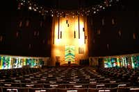 The Olan Sanctuary at Temple Emanu-El is one of two chapels restored recently through a capital campaign, Our Temple Our Future.(David Woo/Staff Photographer)