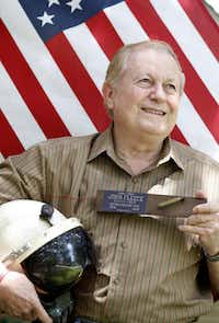 Carl Fleece was a retired lieutenant colonel in the Air Force and a decorated B-52 pilot.(Fort Worth Star-Telegram)