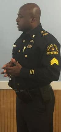 <p>Sgt. Demetrick Pennie</p>