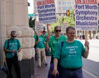 Fort Worth Symphony on strike.(David Kent)