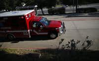 Dallas Fire-Rescue will put an additional ambulance into service next year.(Andy Jacobsohn/Staff Photographer)