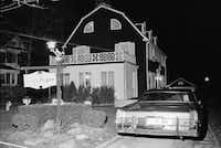 "In 1974, police investigated the murder of six people found shot in Amityville, N.Y., the house made famous in the later book and film, ""The Amityville Horror."" (Richard Drew/The Associated Press)"