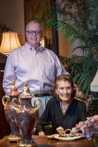 John Bray and Betty Gertz of East and Orient Company at 1123 Slocum Street in Dallas, Texas. (Robert W. Hart/Special Contributor)(Special Contributor)