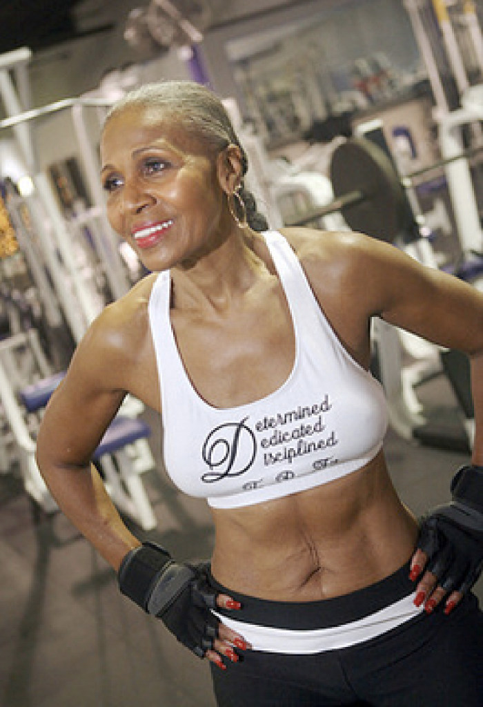 70 Year Old Woman With Great Body